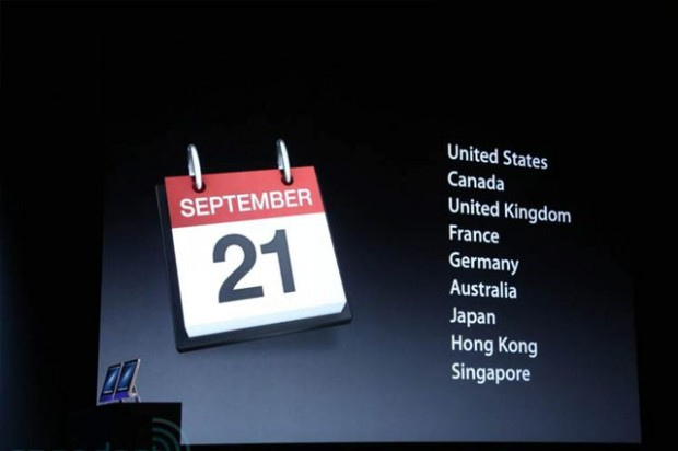 Apple iPhone 5 Date de sortie France