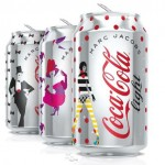 Canettes Coca-Cola Light x Marc Jacobs 30 ans