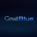 Gmail Blue Poisson davril Google 2013